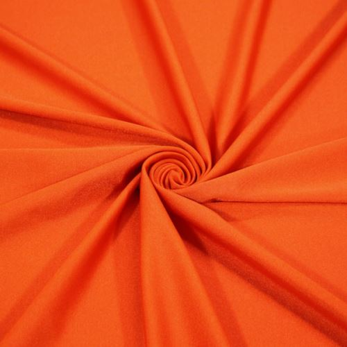 Plavkovina, úplet oranžový, š.150