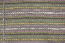 Kostýmovka barevná, vetkávaný vzor, š.135