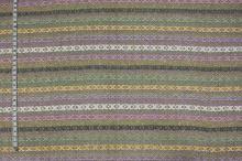 Kostýmovka farebná, vytkávaný vzor, š.135