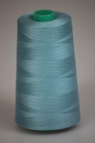 Niť KORALLI polyesterová 120, 5000, odtieň 5240, modrá