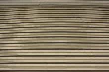 Košilovina béžová, hnědý pruh, š.140