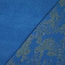 Softshell modrý, reflexní vzor, š.145
