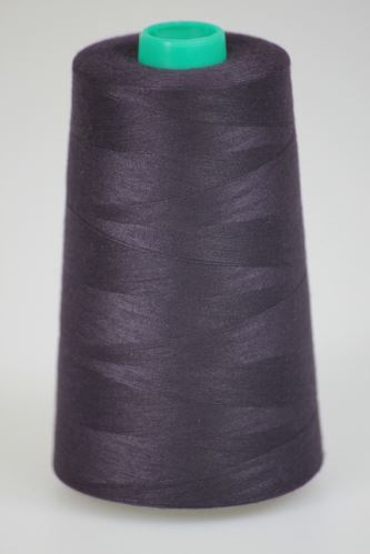 Niť KORALLI polyesterová 120, 5000, odtieň 4390, fialová