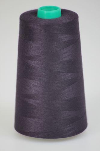 Niť KORALLI polyesterová 120, 5000Y, odtieň 4390, fialová