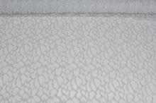 Čipka bielostrieborná s lurexom, š.110