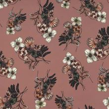 Šatovka hnědá, květy a listy, š.145