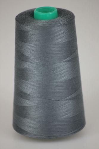 Niť KORALLI polyesterová 120, 5000, odtieň 9340, šedá