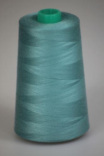Niť KORALLI polyesterová 120, 5000, odtieň 5720, modrá
