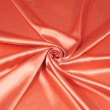 Satén oranžový BW442, š.145