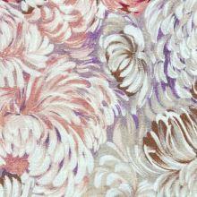 Kostýmovka 20290, farebné chryzantémy, š.135