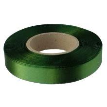 Stuha atlasová tmavší zelená, šíře 15mm