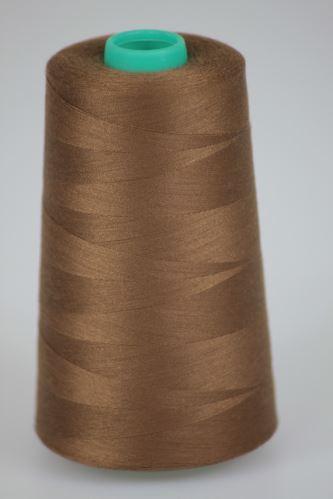 Niť KORALLI polyesterová 120, 5000, odtieň 8440, hnedá