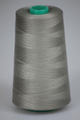 Niť KORALLI polyesterová 120, 5000Y, odtieň 7580, šedá