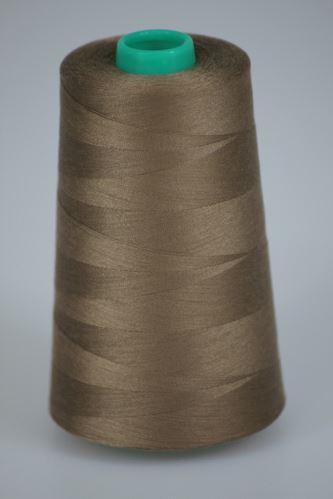 Nit KORALLI polyesterová 120, 5000Y, odstín 8420, béžová