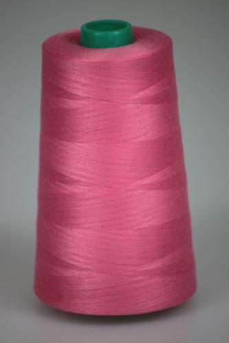 Niť KORALLI polyesterová 120, 5000Y, odtieň 3460, ružová