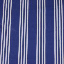 Lehátkovina modrá, bílý pruh, š.45