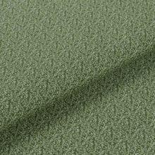 Bavlnené plátno zelené, drobné vetvičky, š.145