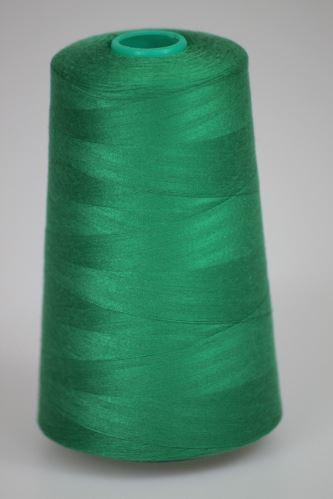 Niť KORALLI polyesterová 120, 5000, odtieň 6260, zelená