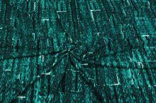 Úplet zeleno-černý N2862, š.150