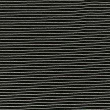 Košilovina 06766 černá, světlý pruh, š.155