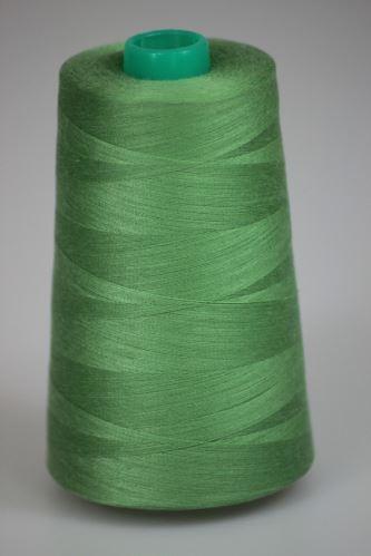 Niť KORALLI polyesterová 120, 5000Y, odtieň 6395, zelená