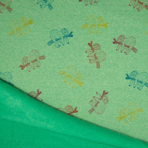 Warmkeeper zelený, barevní lenochodi, š.145