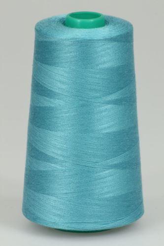 Niť KORALLI polyesterová 120, 5000, odtieň 5730, modrá