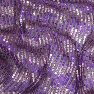 Flitry fialovo-růžové vlny š.135