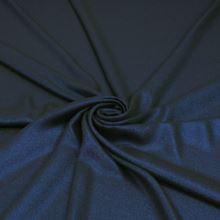 Šatovka tmavě modrá, modrý třpyt, š.145