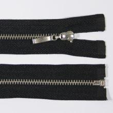 Zips kovový 4mm chróm dĺžka 50cm, farba 332 (deliteľný)