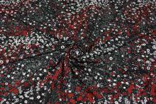 Úplet N4169, drobný květinový vzor, š.150