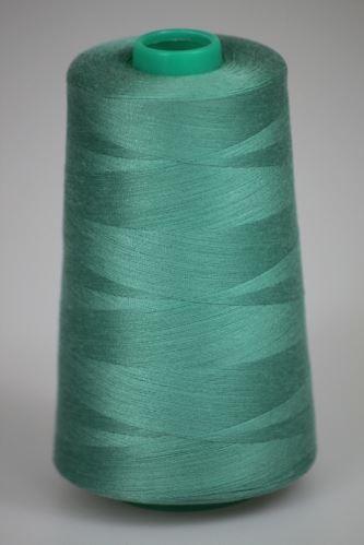 Niť KORALLI polyesterová 120, 5000, odtieň 6230, zelená