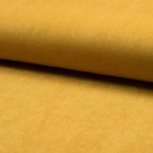 Kostýmovka semišový keper, horčica, š.150
