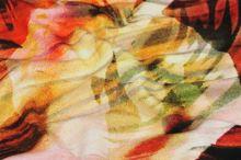 Úplet barevný 13142, vzor nápisy, š.145