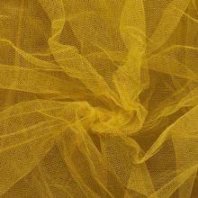 Tyl závojový žltý š.180