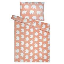 Obliečky mikroflanel SLEEP WELL 70x90/140x200cm - slony