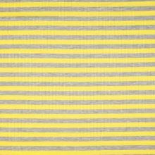 Úplet žebrový, žluto-šedý proužek, 180g/m, š.145