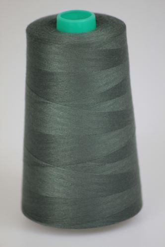 Niť KORALLI polyesterová 120, 5000Y, odtieň 6995, šedá