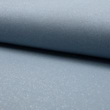 Teplákovina počesaná svetlo modrá, strieborný lurex, š.150