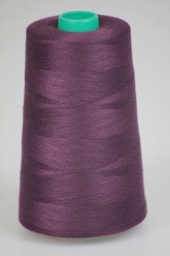Niť KORALLI polyesterová 120, 5000Y, odtieň 3770, fialová