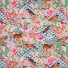Úplet patchwork se zvířátky, š.155