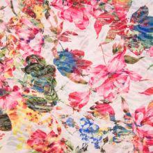 Úplet farebný 19556, kvetinový vzor, š.145
