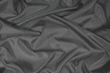 Podšívka čiernobiele káro, š.145