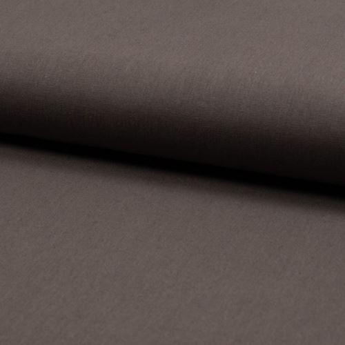 Lněná kostýmovka, hnědo-šedá, š.135