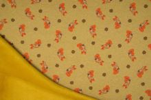 Warmkeeper žltý, líšky, š.145