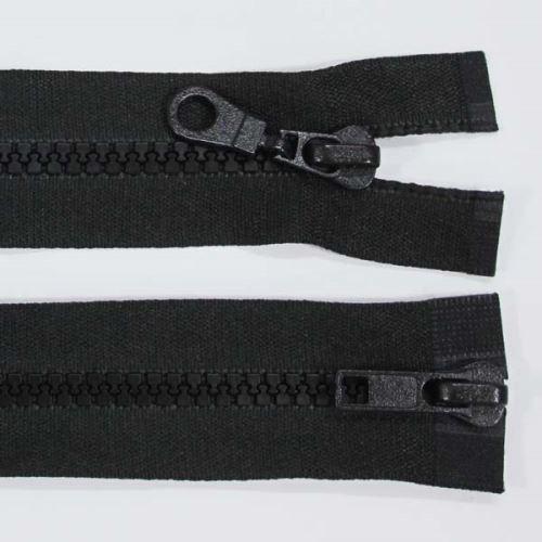 Zip kostěný 5mm délka 70cm, barva 332 (dělitelný)