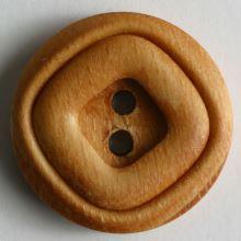 Knoflík dřevěný 221196, 15mm