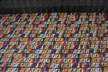 Prešiv farebná písmená, š.145