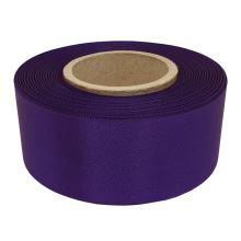 Stuha atlasová fialová, šírka 40mm