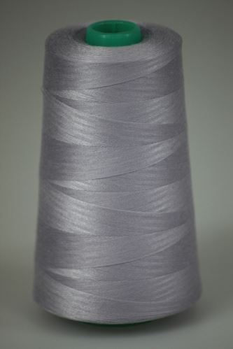 Niť KORALLI polyesterová 120, 5000, odtieň 4120, fialová-šedá
